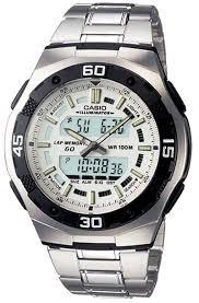 Мужские часы Casio  AQ-164WD-7AVDF  + ПОДАРОК: Держатель для телефонa L-301