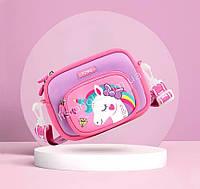 Детская сумка с единорогом, яркая, легкая, стильная, отличный подарок, сумка для девочки