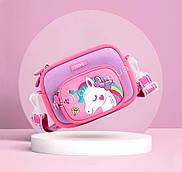 Дитяча сумка з єдинорогом, яскрава, легка, стильна, відмінний подарунок, сумка для дівчинки