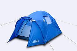 Палатка двухместная с тамбуром и тентом Coleman 3006