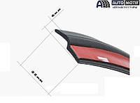 Универсальный уплотнитель для автомобильной двери Z type ( Z - образная прокладка двери автомобиля 22мм х 6мм)