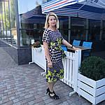 Платье летнее женское трикотажное с карманами Пл 191-2., фото 2