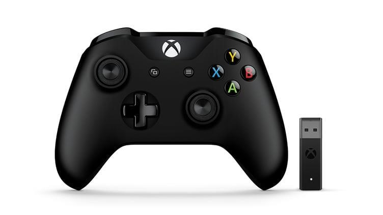 Геймпад Microsoft Xbox One Controller + Wireless Adapter for Windows