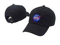 ✔️ Кепка модная из хлопка с логотипом чёрная мужская женская унисекс бейсболка