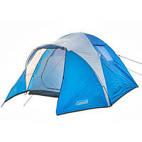 Палатка четырехместная с тамбуром и тентом Coleman 1004