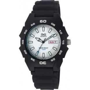 Мужские часы Q&Q A170J002Y + ПОДАРОК: Держатель для телефонa L-301