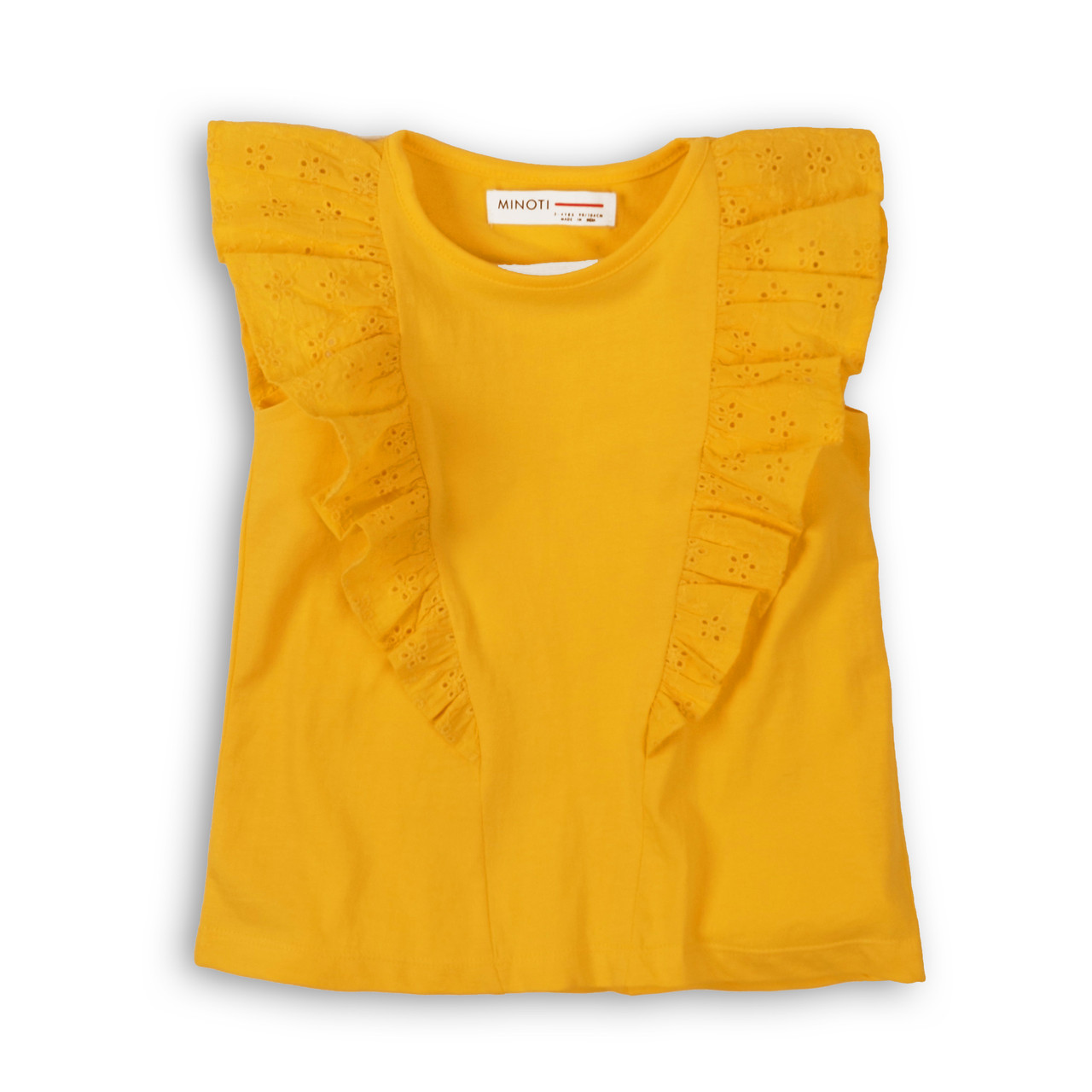 Детская и подростковая футболка для девочек 9-11 лет,  134-146 см Minoti, 134-140 см