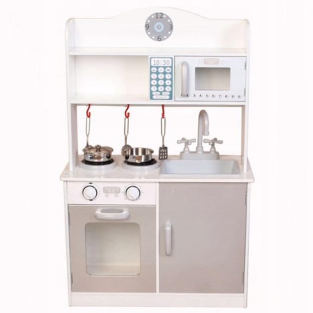 Дитяча ігрова дерев'яна кухня Ecotoys PLK530 для дітей