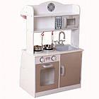 Дитяча ігрова дерев'яна кухня Ecotoys PLK530 для дітей, фото 4