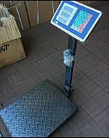 Напольные товарные весы   до 300 кг (400мм*500мм) Складные, усиленная платформа и стойка.