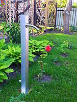Садовая колонка Нержавейка (водопроводная декоративная)