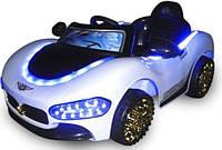 Детский электромобиль на аккумуляторе CABRIO MA EVA с пультом управления Белый (чудомобиль), фото 1