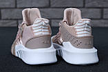 Женские кроссовки Adidas EQT в стиле Адидас Эквипмент РОЗОВЫЕ (Реплика ААА+), фото 5