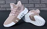 Женские кроссовки Adidas EQT в стиле Адидас Эквипмент РОЗОВЫЕ (Реплика ААА+), фото 7