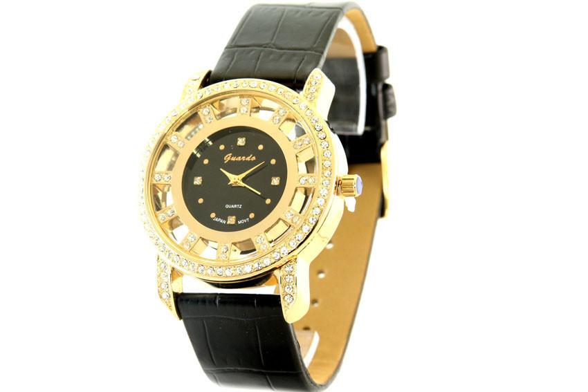 Женские часы Guardo 09752 + ПОДАРОК: Держатель для телефонa L-301