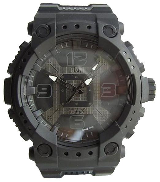 Мужские часы Q&Q GW82-006 + ПОДАРОК: Держатель для телефонa L-301