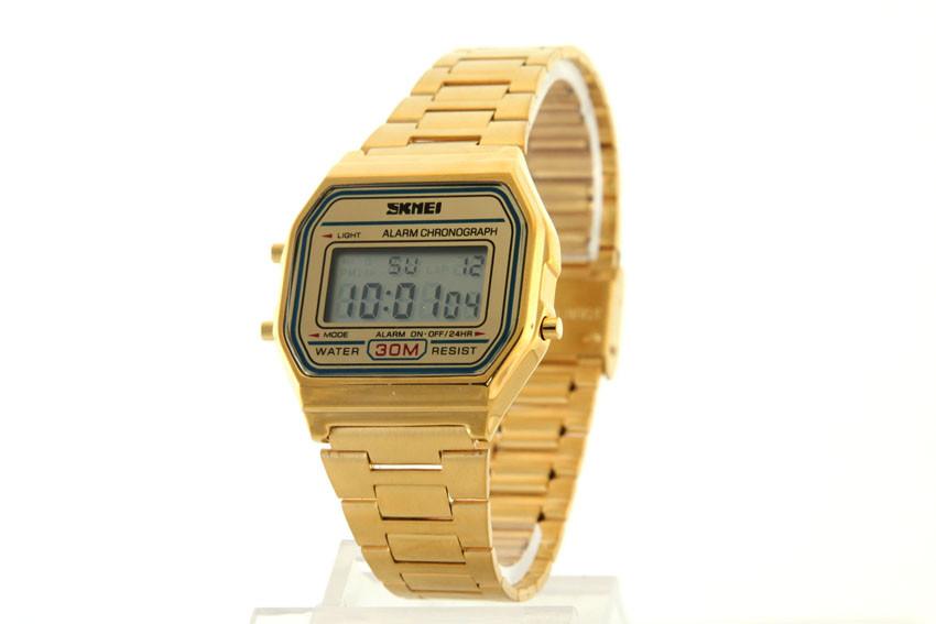Женские часы Skmei 1123 + ПОДАРОК: Держатель для телефонa L-301