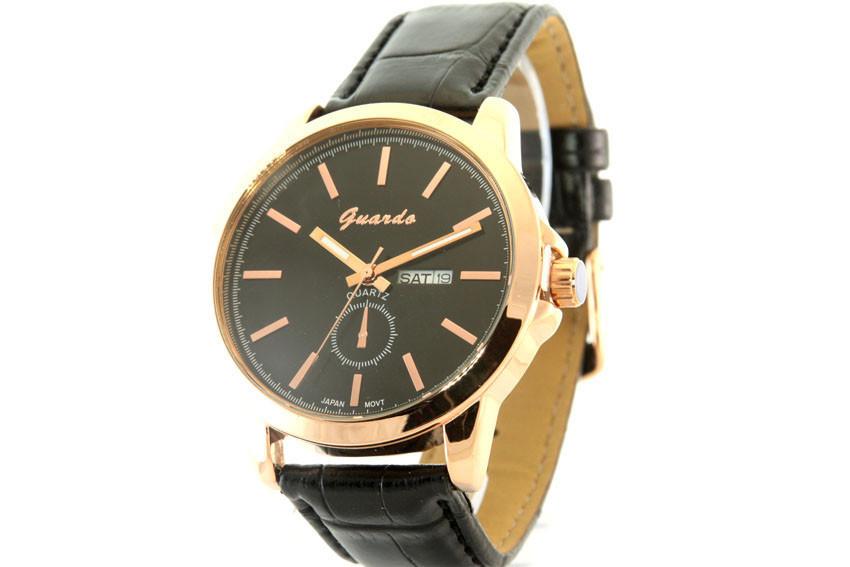 Мужские часы Guardo 09387 + ПОДАРОК: Держатель для телефонa L-301