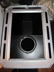 Каменка для бани или сауны 18 м3 Классик с выносом топки (комбинированный кожух), фото 2