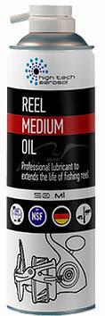 Смазка High Tech Aerosol Reel Medium Oil 50мл