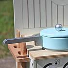 Дитяча ігрова дерев'яна кухня Wooden Toys Mini для дітей, фото 7