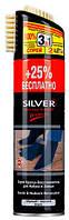Спрей-краска Silver для нубука и замши черная 250мл