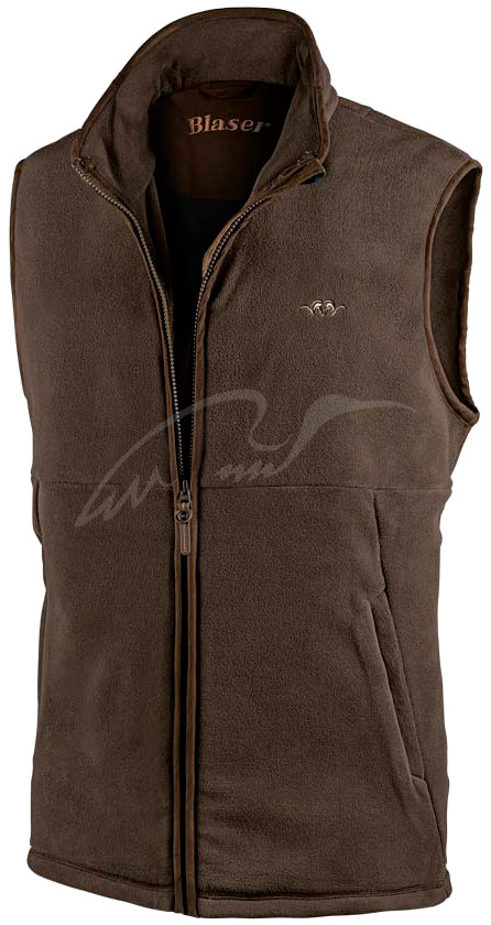 Жилет Blaser Active Outfits Basic Fleece Розмір - Колір - коричневий