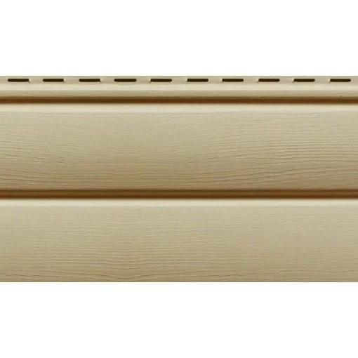 Сайдинг Ю-пласт виниловый Блок-Хаус панель 3,4х0,23. Блокхаус под сруб. Кофе с молоком - фото 1