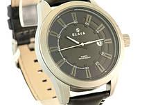 Мужские часы SLAVA 10124 + ПОДАРОК: Настенный Фонарик с регулятором BL-8772A, фото 3