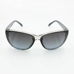 Черные женские солнцезащитные очки с поляризацией Burberry
