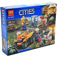 Конструктор Bela «Cities» - Команда шахтеров, 106 деталей (10873)