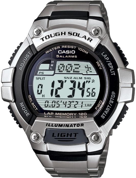 Мужские часы Casio W-S220D-1AVDF + ПОДАРОК: Настенный Фонарик с регулятором BL-8772A