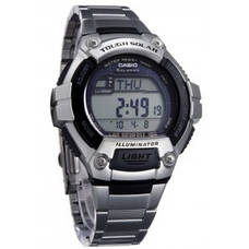 Мужские часы Casio W-S220D-1AVDF + ПОДАРОК: Настенный Фонарик с регулятором BL-8772A, фото 2