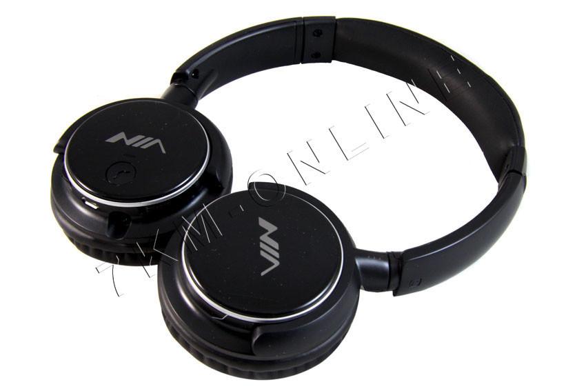 Стильные Bluetooth наушники NIA Q1 + ПОДАРОК: Держатель для телефонa L-301