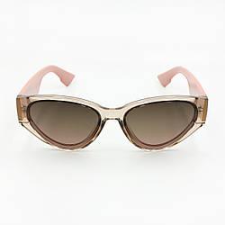 Солнцезащитные очки коричневого цвета с поляризацией CD, женские