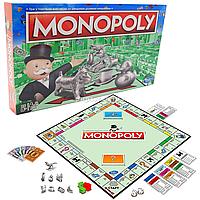 Настольная игра Hasbro «Монополия. Игра в торговлю собственностью по быстрым деловым операциям (оригинал, украинский язык) C1009