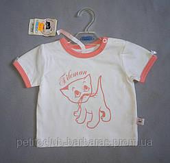 Детская летняя футболка для девочки (Barbaras, Польша)