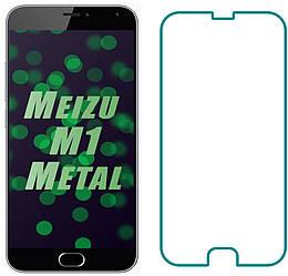 Защитное стекло Meizu M1 Metal (Прозрачное 2.5 D 9H) (Мейзу М1 Метал)