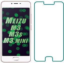 Защитное стекло Meizu M3s / M3 / M3 mini (Прозрачное 2.5 D 9H) (Мейзу М3с М3 Мини)