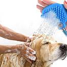 Перчатка-душ для купания домашних питомцев | Щетка для животных AQUAPAW, фото 7