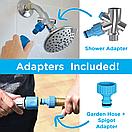Перчатка-душ для купания домашних питомцев | Щетка для животных AQUAPAW, фото 8