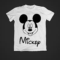 Футболка женская с красивым модным принтом Mickey Mouse