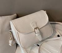 Сумка клатч женская Белая через плечо Код 015802, фото 1