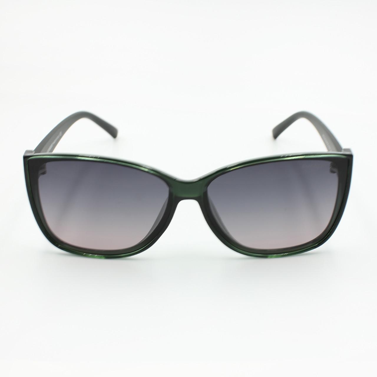 Очки солнцезащитные с поляризацией Burberry зеленые