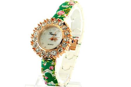 Женские часы Geneva + ПОДАРОК: Настенный Фонарик с регулятором BL-8772A, фото 2