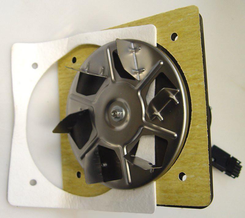 Atmos двигатель вытяжного вентилятора UCJ4C52/UCJ4C52A-USA с открытым рабочим колесом Ø 175 мм и панелью
