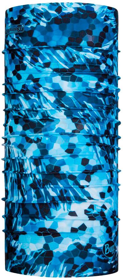 Мультиповязка Buff Coolnet UV Tubular Buff Bugslinger Mosaic Camo Marine Blue