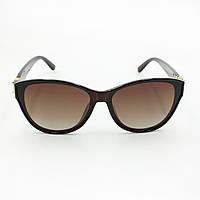 Коричневые женские солнцезащитные очки Louis Vuitton