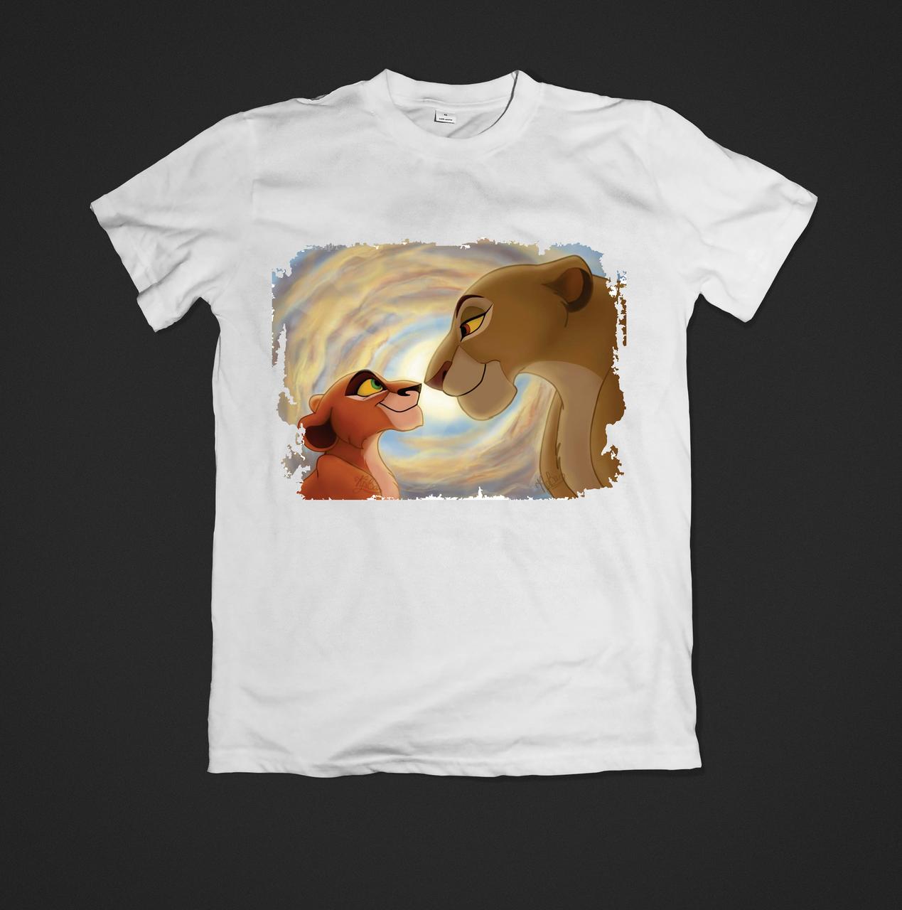 Футболка дитяча з принтом Lion King