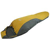 Спальный мешок Tramp Windy Light левый желто/серый, фото 1
